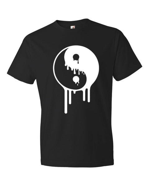 Dripping Yin Yang Short sleeve t-shirt - Virtual Store USA