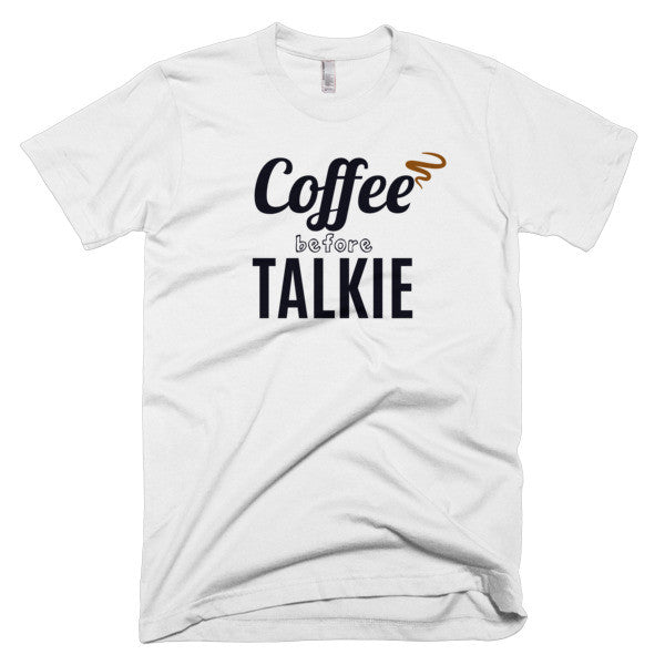 Coffee Before Talkie Short sleeve men's t-shirt - Virtual Store USA