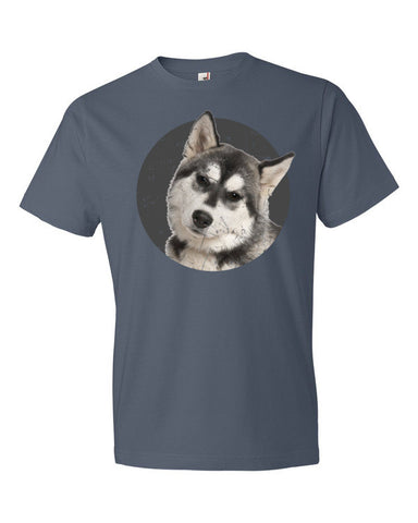 Siberian Husky Dog Lover Short sleeve unisex t-shirt