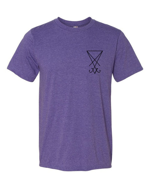 Sigil of Lucifer Short sleeve unisex t-shirt
