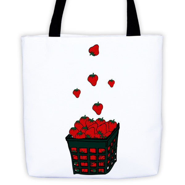 Strawberry Basket Tote bag
