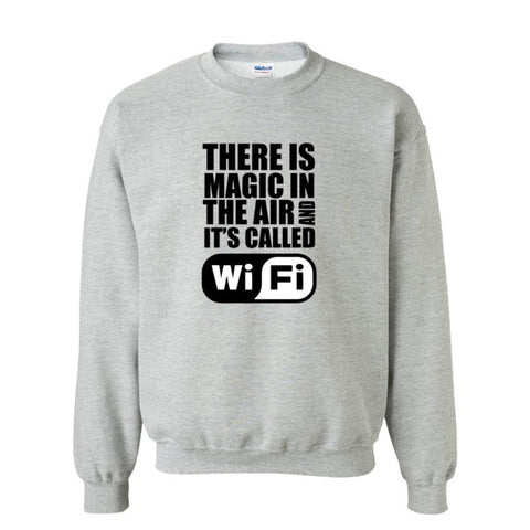 WIFI Magic in the Air Sweatshirt