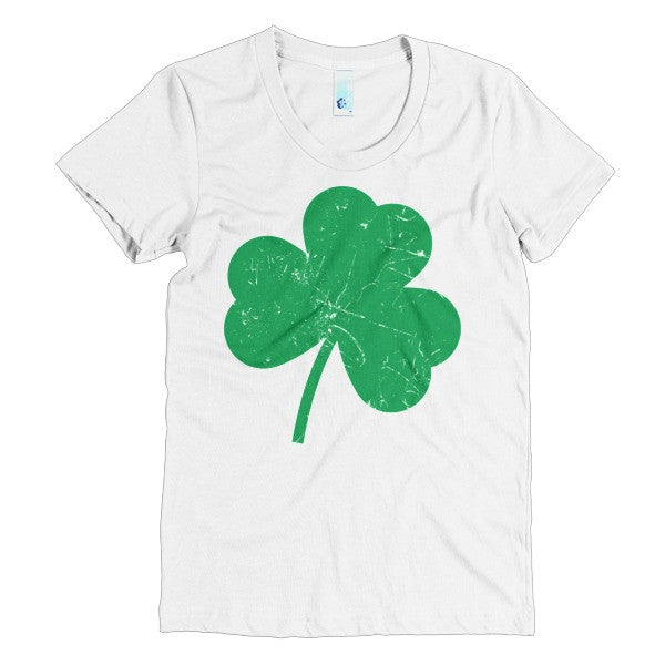 Celtic Clover Leaf St. Patrick's Day Women's short sleeve t-shirt - Virtual Store USA