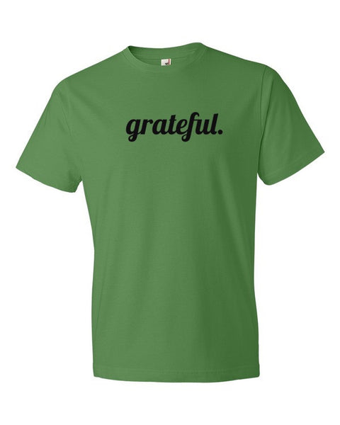 Grateful Short sleeve unisex t-shirt - Virtual Store USA