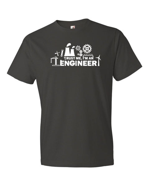 Trust Me I'm an Engineer Unisex Short sleeve t-shirt
