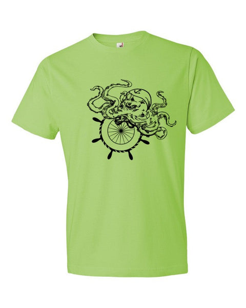 Octopus Nautical Unisex Short sleeve t-shirt