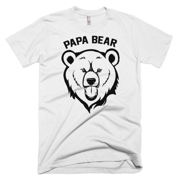 Papa Bear Short sleeve men's t-shirt
