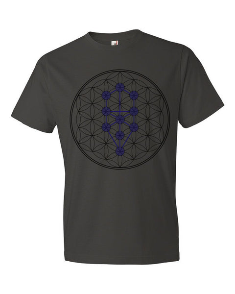 Tree of Life Flower of Life Stage Unisex Short sleeve t-shirt