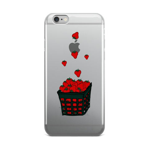 Strawberry Basket iPhone case