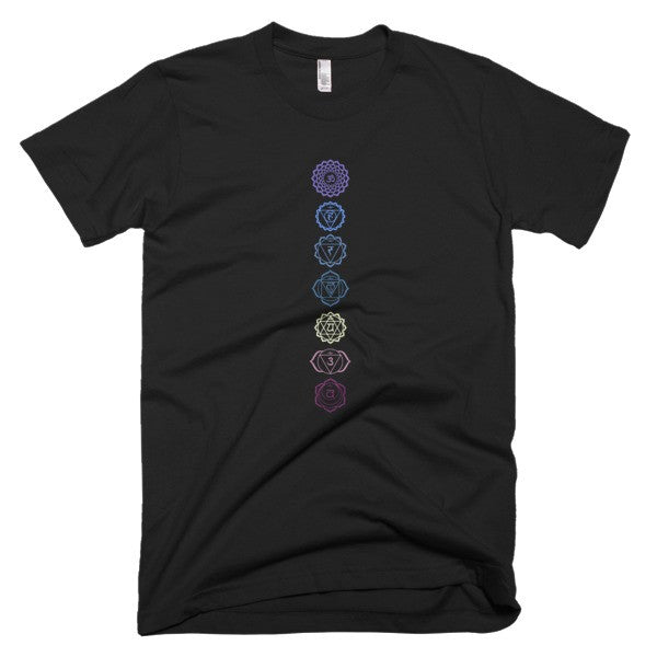 7 Chakras Short sleeve men's t-shirt - Virtual Store USA