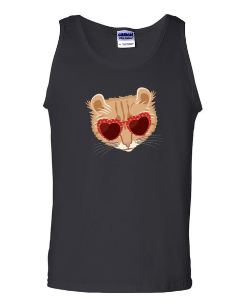 Cat with Sunglasses Tank top - Virtual Store USA