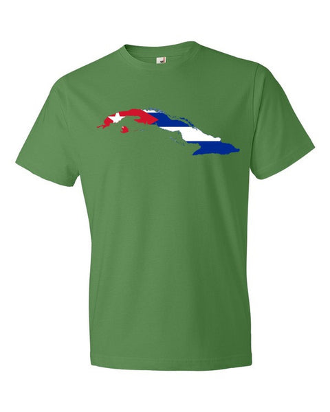 Cuban Flag Short sleeve unisex t-shirt - Virtual Store USA