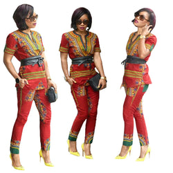 African Traditional Pants Suit