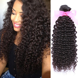 Malaysian Deep Curly Human Hair 10a Unprocessed Virgin Hair Extensions