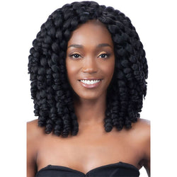 Freetress African Collection Jumpy Wand Curl Twist Jamaican Bounce Twist Braidin
