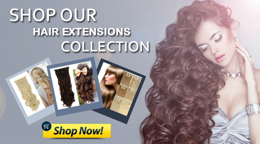 Shop our Hair Extensions Collection