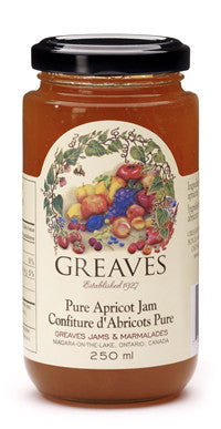 Greaves Apricot Jam 250 ML Jar