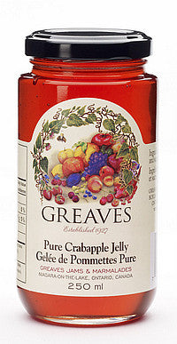 Greaves Crabapple Jelly