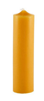 "Honey Candles - 6"" Column Candle (Natural)"