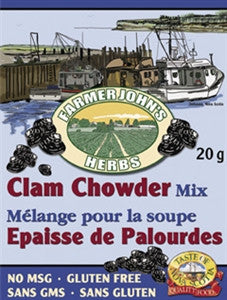 Farmer John's Clam Chowder