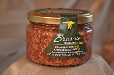 Brassica Cranberry Honey Prepared Mustard