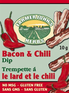 Farmer John's Herbs - Bacon and Chili Dip