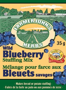 Farmer John's Herbs - Wild Blueberry Stuffing Mix
