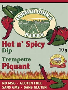 Farmer John's Herbs - Hot n' Spicy Dip