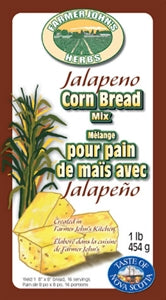 Farmer John's Herbs - Jalapeno Corn Bread Mix