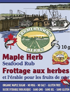 Farmer John's Herbs - Maple Herb Seafood Rub