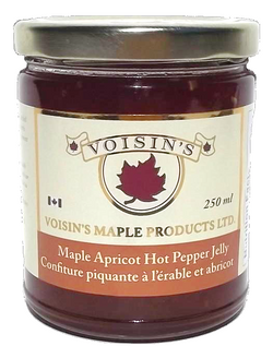 Voisin's Maple Apricot Hot Pepper Jelly