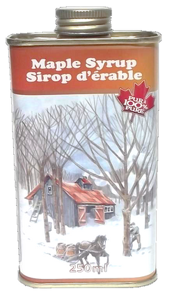 Voisin's Maple Syrup Can