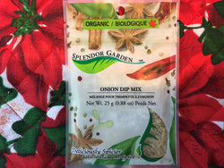 Splendor Garden Onion Dip Mix