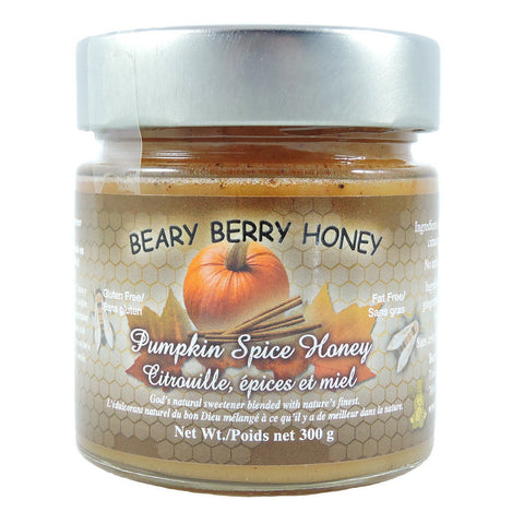 Beary Berry Pumpkin Spice Honey