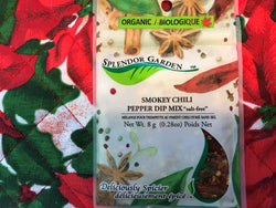 Splendor Garden Smokey Chili Pepper Dip Mix 8g