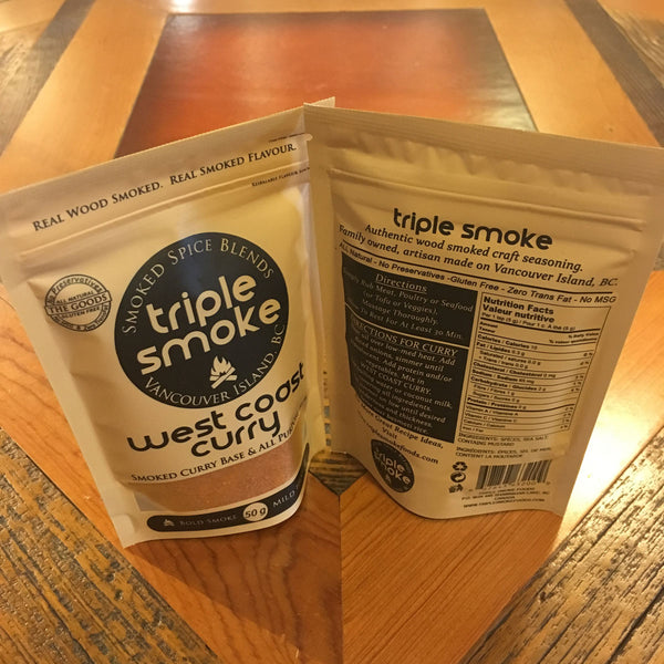 Triple Smoke West Coast Curry