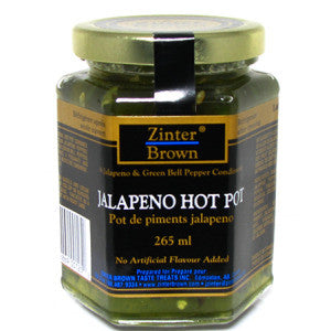 Zinter Brown Jalapeno Hot Pot