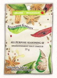 Splendor Garden Organic All Purpose Seasoning
