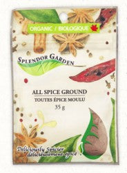 Splendor Garden Organic All Spice, Ground