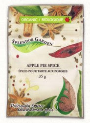 Splendor Garden Organic Apple Pie Spice