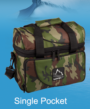 Iceberg Arch Top Thermal Bag Camo Single Pocket