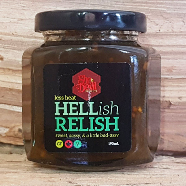 Hellish Relish Less Heat