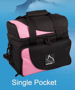 Iceberg Arch Top Thermal Bag Pink Single Pocket