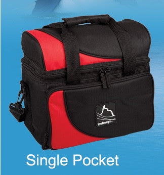 Iceberg Arch Top Thermal Bag Red Single Pocket