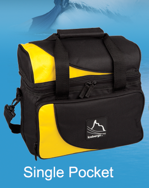 Iceberg Arch Top Thermal Bag Yellow Single Pocket