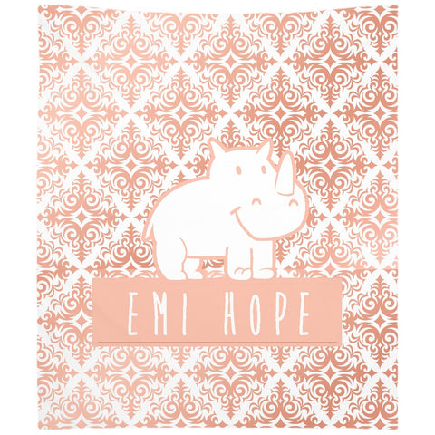Rose Gold Emi Tapestry