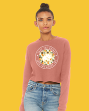Load image into Gallery viewer, Pinangles Round Crop Sweatshirt