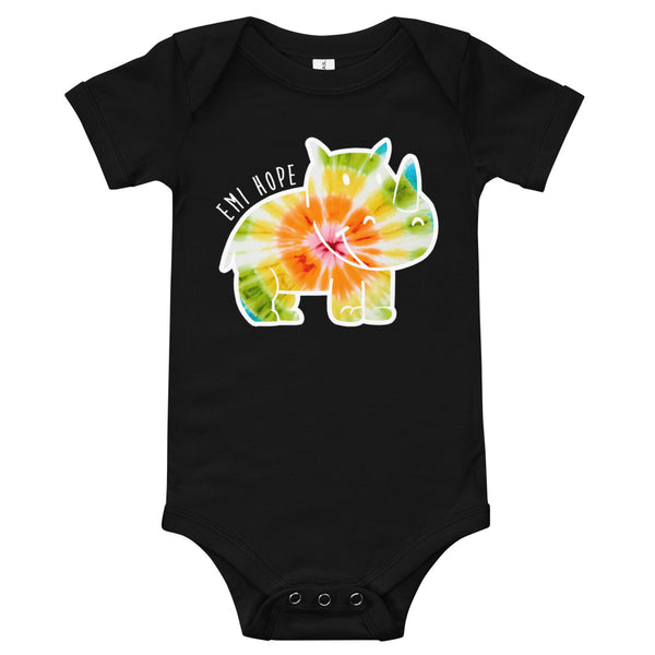 Tie Dye Emi Infant Short Sleeve Onesie
