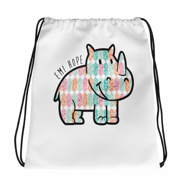 Diamond Emi Drawstring bag