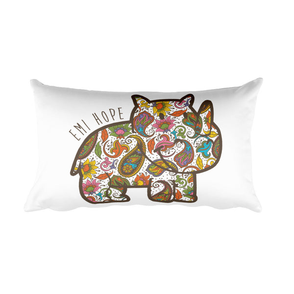 Paisley Emi Rectangular Pillow